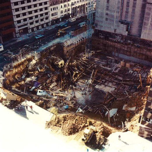 Investigation of November 19, 1990 Excavation Collapse at 14th and H Streets, N.W. Washington, D.C. - For problems with accessibility in using figures and illustrations, please contact the DOC at 202-693-2020.