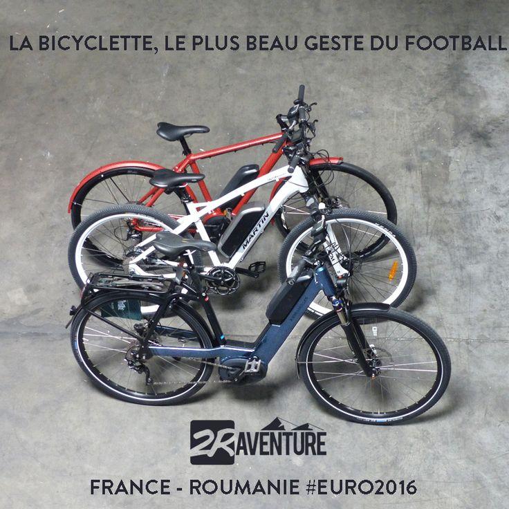 France Roumanie - La bicyclette, le plus geste du foot
