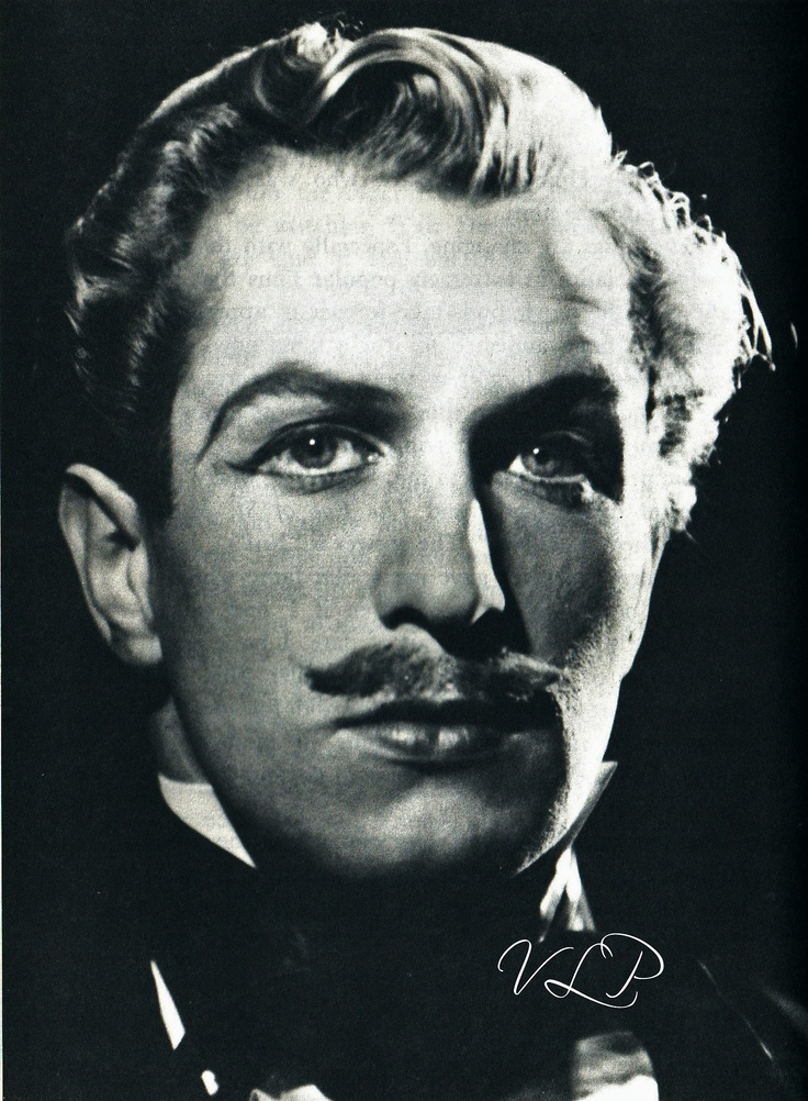 Vincent Price Definition of freaky!