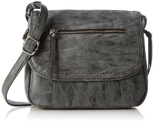Oferta: 55.99€ Dto: -30%. Comprar Ofertas de Tom Tailor Acc Nell - Bolso bandolera para mujer, color gris (schwarz 60), talla 26x21x7 cm (B x H x T) barato. ¡Mira las ofertas!