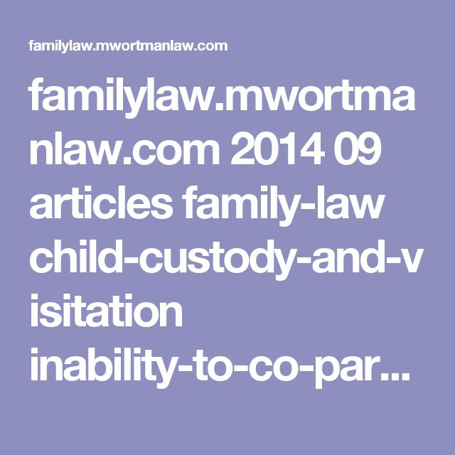 Best  Family Law Courts Ideas On   Child Custody Laws