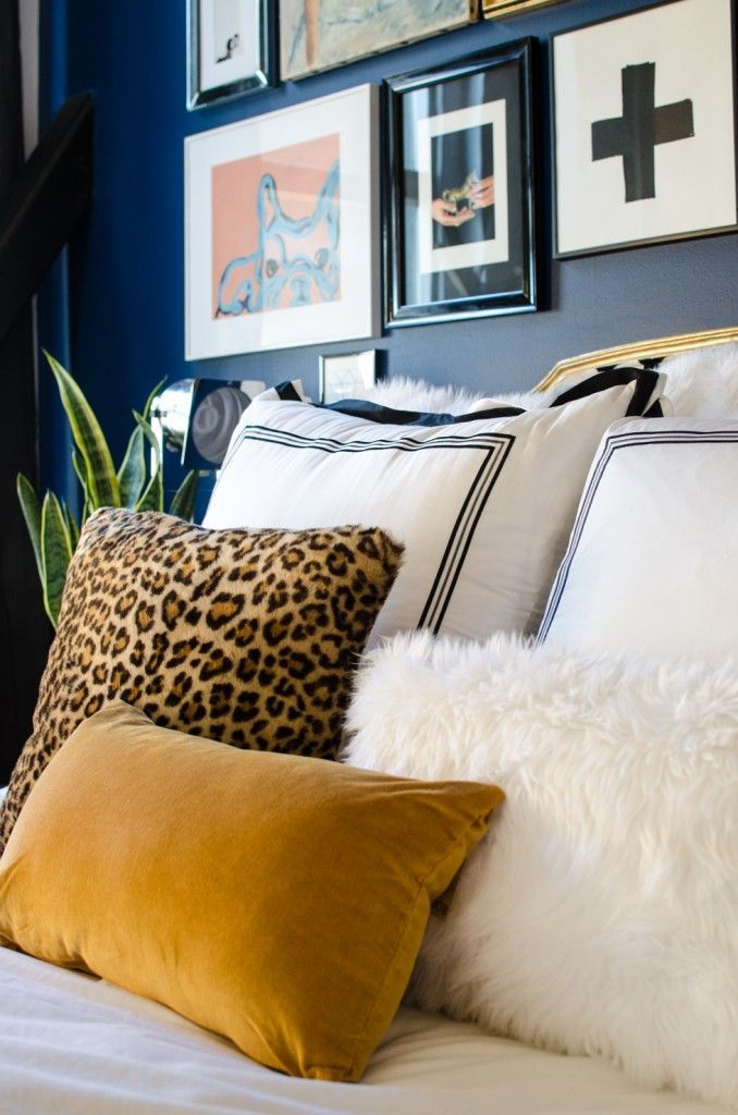 pillows & gallery wall