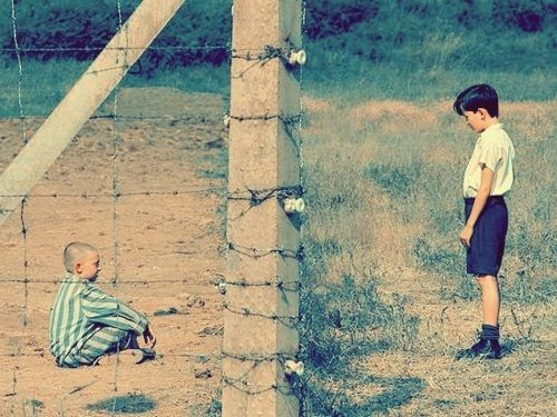 """The Boy in the Striped Pajamas"" - ""Fences like this exist all over the world. We hope you never have to encounter one."""