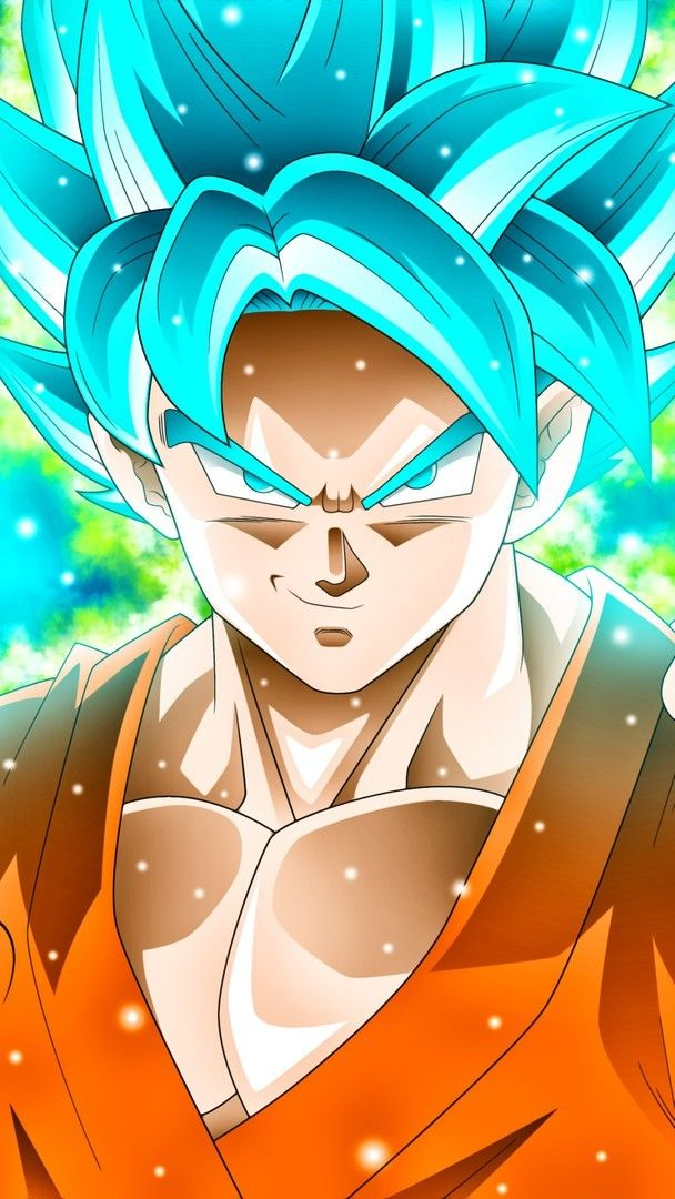 Goku Blue Wallpaper iPhone (con imágenes) Pantalla de
