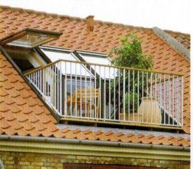 Dormer Roof Balcony