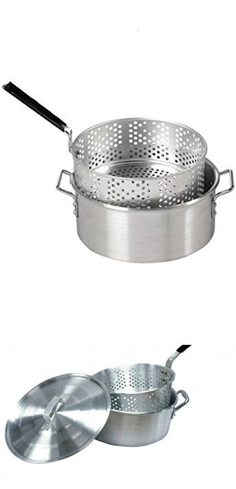 115 best fish poachers images on pinterest stainless for Fish fryer basket