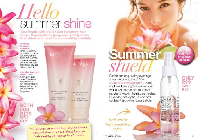Summer shine and shield