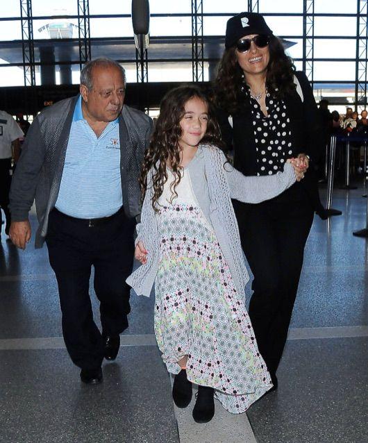 salma hayek daughter photos 2015 - Google Search