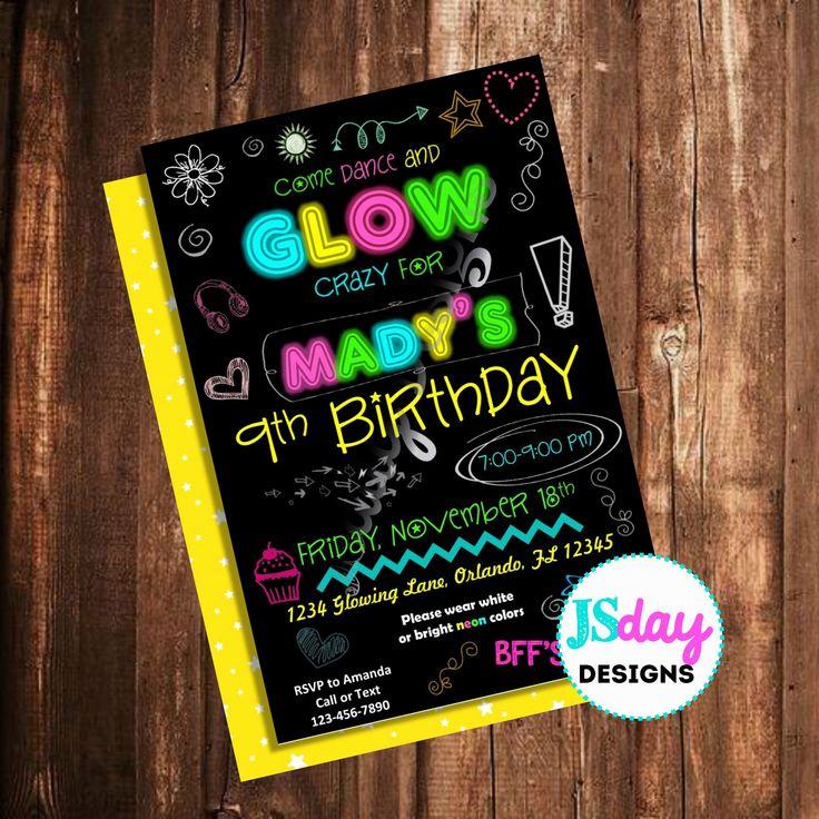 17th birthday ideas winter 88427 glow party 17th