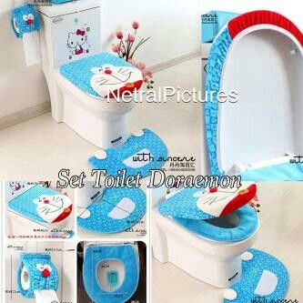 #set #cover toilet #doraemon @ 180.000