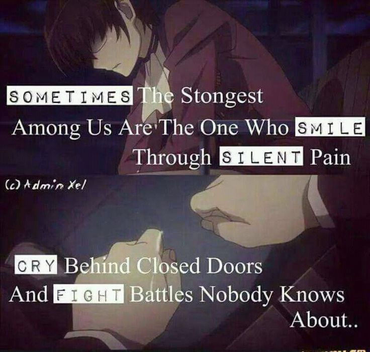 Sad Quotes About Depression: Best 25+ Sad Anime Quotes Ideas On Pinterest