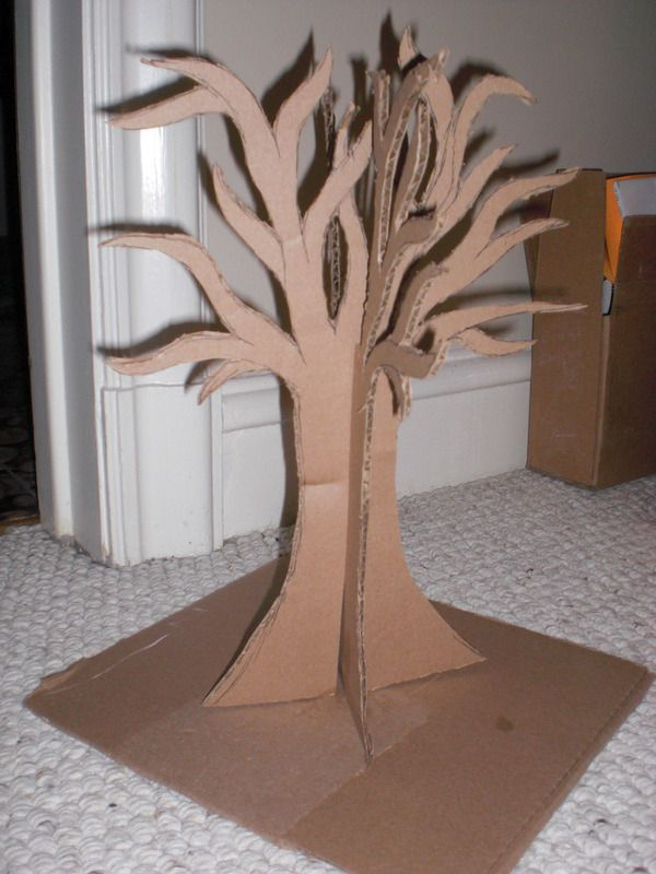 How to make a jewelry hanger. Alice In Wonderland Jewelry Tree - Step 5
