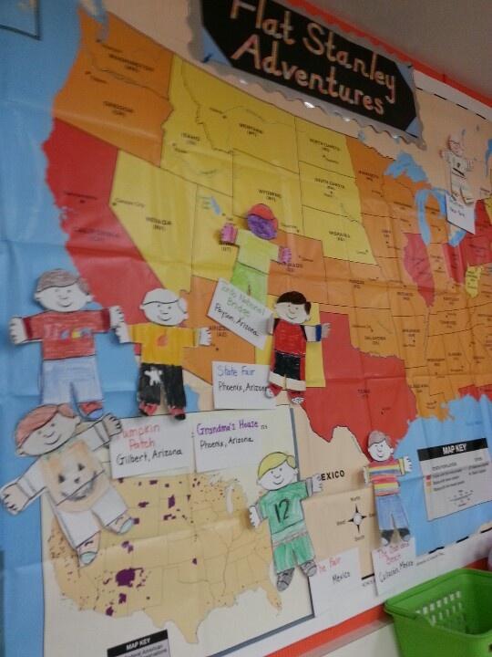 Classroom Organization Ideas First Grade ~ Flat stanley social studies pinterest flats and