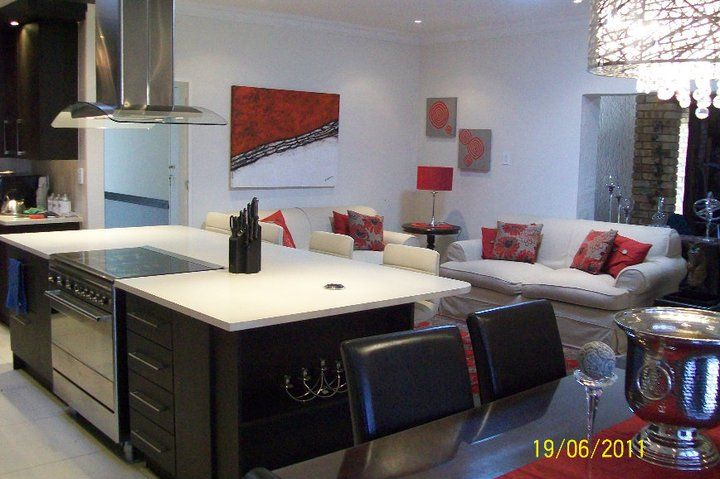 Open plan Kitchen Dining room and lounge