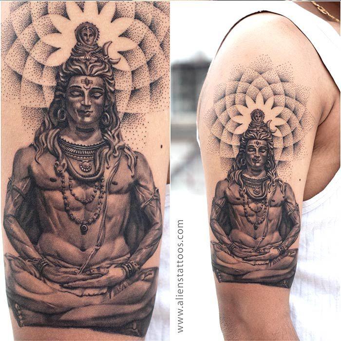 best religious tattoos lord shiva tattoo designs best tattoos ever pinterest shiva tattoo. Black Bedroom Furniture Sets. Home Design Ideas