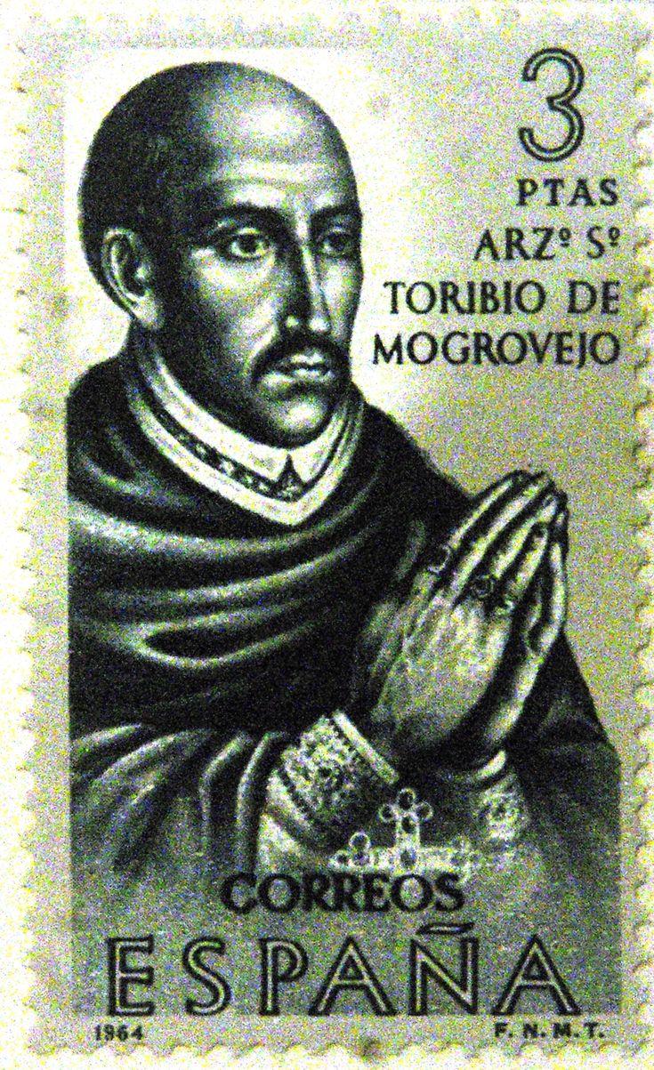 Sellos - Personajes - Arzobispo Toribio de Mogrovejo