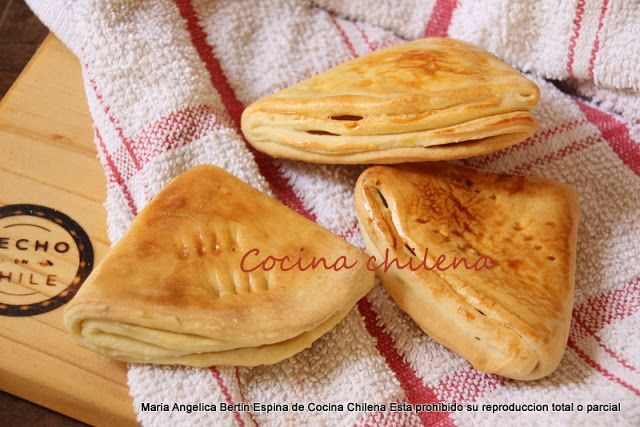 .COCINA CHILENA: DOBLADITAS PAN
