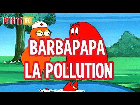 YouTube video Barbapapa  la pollution