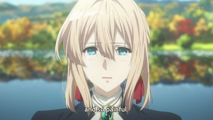 Violet Evergarden - 07- review - tears of playwright