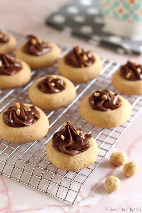 Biscotti alle nocciole e nutella: i Nocciolotti di Dulcisss in forno by Leyla