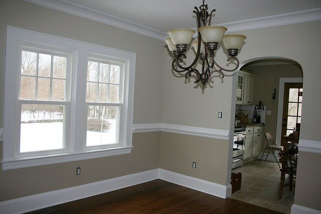 wall molding.... paint colors