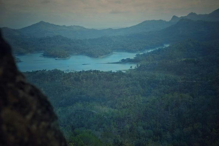 Blue and green rythm Kali biru kulon progo jogjakarta indonesia