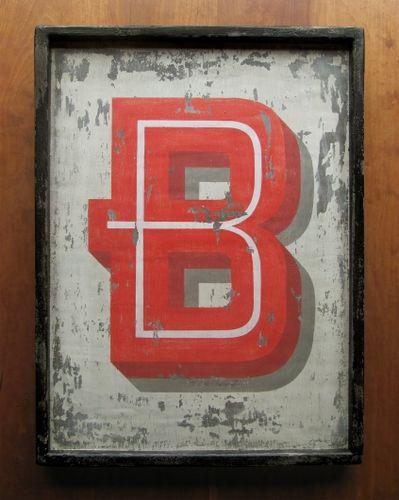 Letter 'B'