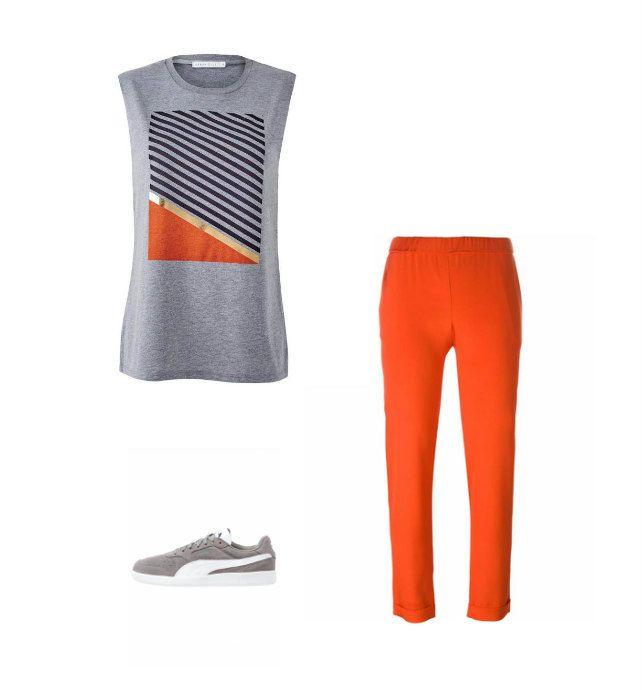 Casual Monday: Urban Gilt t-shirt, P.A.R.O.S.H. pants, Puma sneakers