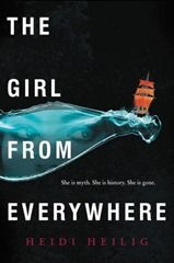 The girl from everywhere by Heidi Heilig. Rating: 4 stars. Genre: Sci-fi.