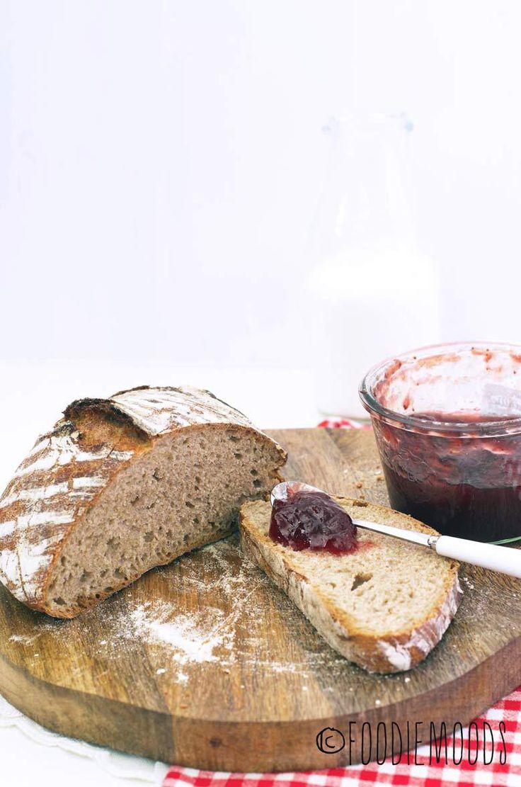 Brood zonder kneden! - Foodiemoods