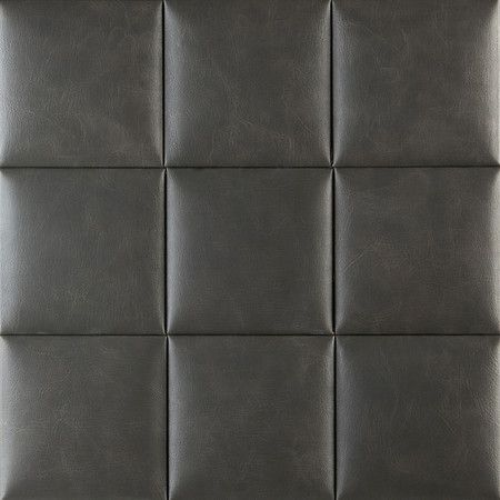 Craft NappaTile Faux Leather Wall Tiles by Concertex
