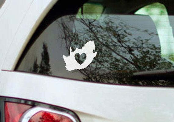 For the Mazda =) Vinyl decal: Love South Africa