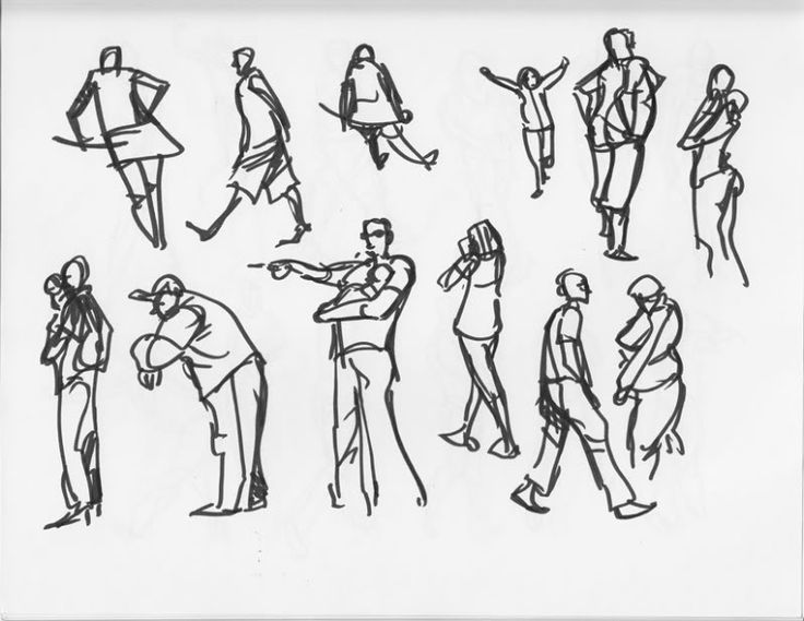 People Architecture sketches