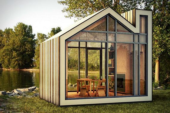 Bunkie Is A Space-Efficient Pre-Fab Cabin