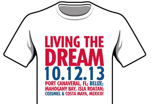 17 Best Cruise Quotes On Pinterest: Shirt Created By Promo Pug For A Cruise Group On The Dream