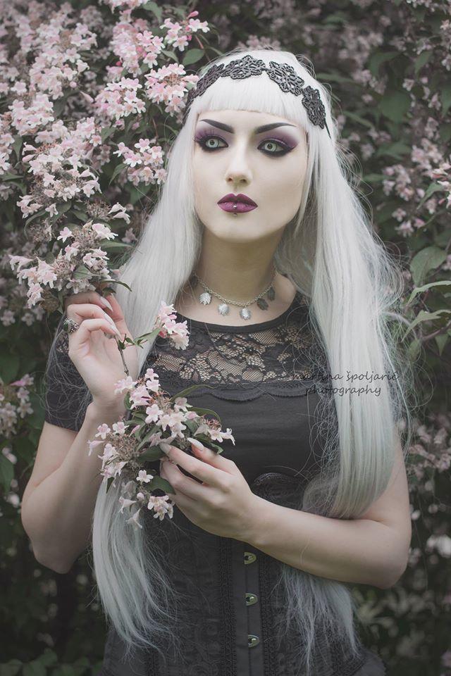 Model: Obsidian Kerttu Corset and skirt: Burleska Corsets Necklace and headband: Skadi Jewellery Photo: Martina Špoljarić photography Welcome to Gothic and Amazing |www.gothicandamazing.org