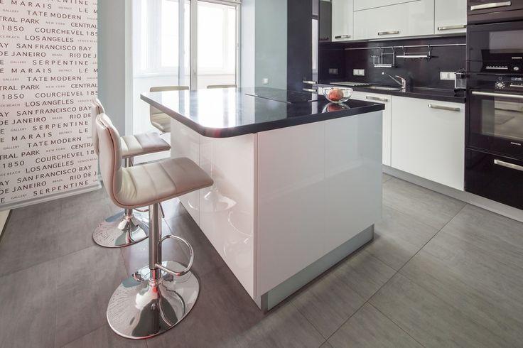 Черно-белый+красный - ALNO. Современные кухни: дизайн и эргономика | PINWIN - конкурсы для архитекторов, дизайнеров, декораторов