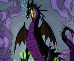 Maleficent Dragon  | Maleficent dragon (the scariest of all Disney villains amirite?)