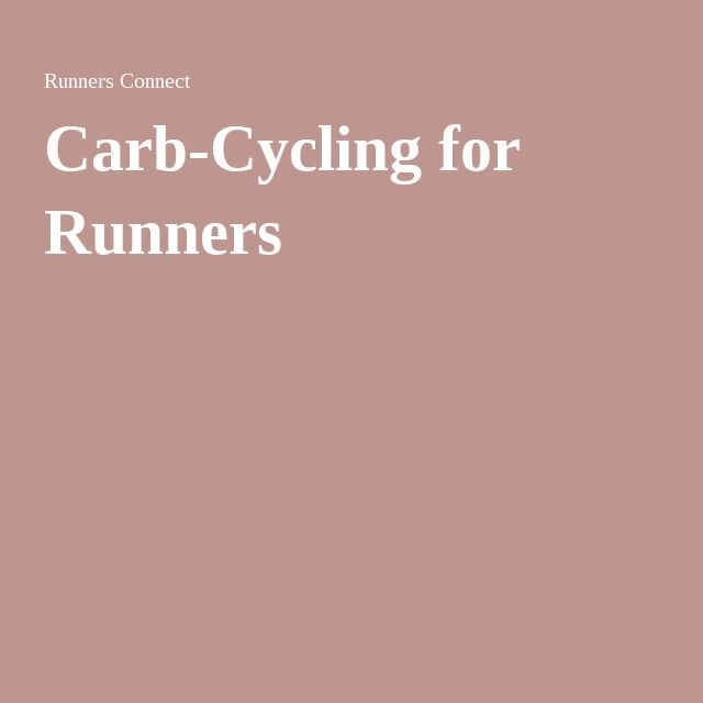 Carb-Cycling for Runners