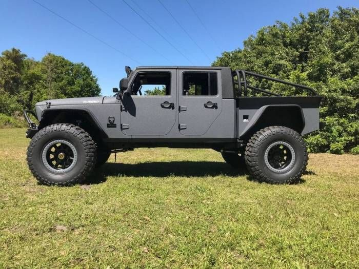 Build The V8 Jeep Truck Of Your Dreams Pickup Trucks Trucks