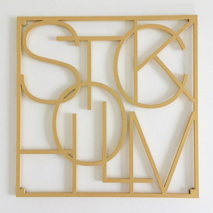 City Trivets Stockholm guld via Detaljfabriken. Click on the image to see more!