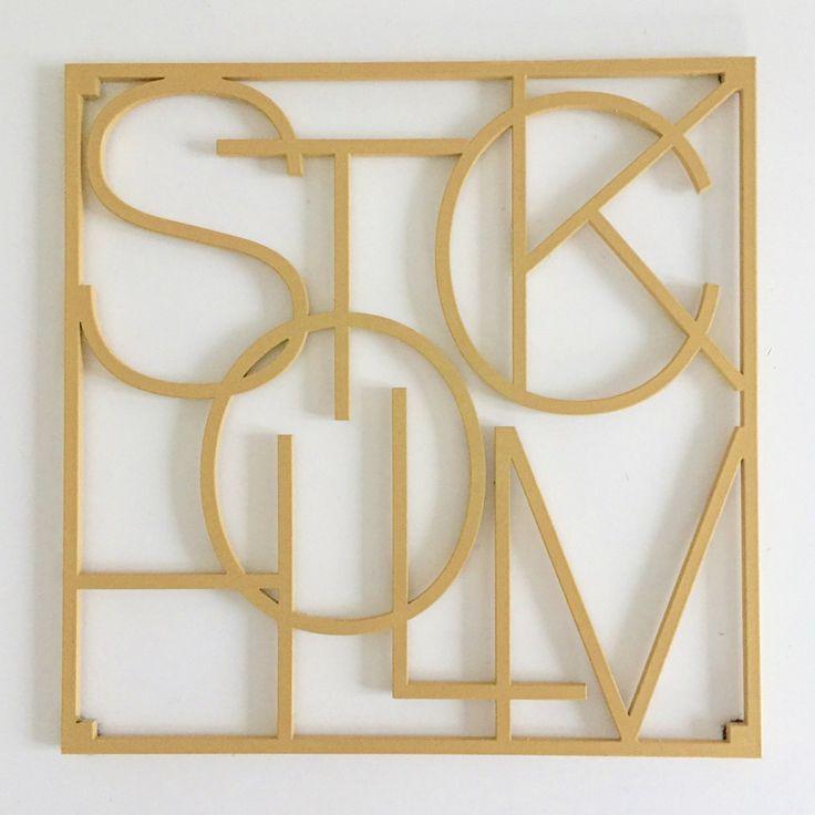 City Trivets Stockholm guld via Detaljfabriken. Click on the image to see more!