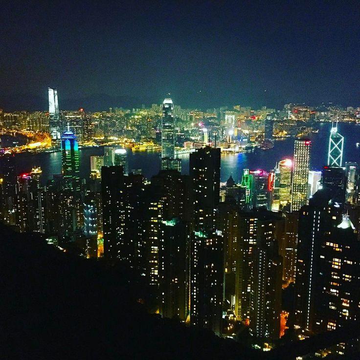 "4 Likes, 1 Comments - Nadia Mabrouk (@illuminadiaa) on Instagram: ""Missing Hong Kong's beautiful cityscape 🌃🇭🇰 #hongkong #victoriapeak #city #nightlife #travel…"""