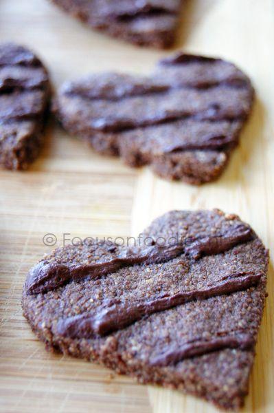 Valentijn Koekjes (gluten- suikervrij)