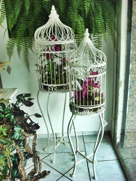 17 Best Images About Bird Cage Decorating On Pinterest