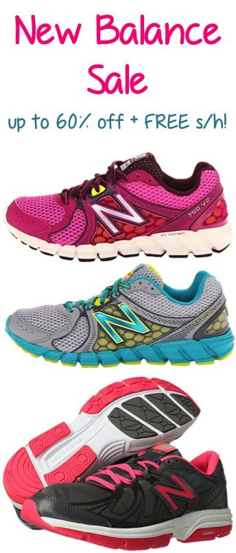New Balance Shoe Sale: up to 60% off + FREE Shipping!! #shoes