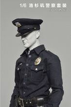 [TC-68011] 1:6 Toys City LA Cop Uniform Set