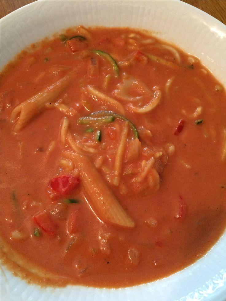 Enkel och supergod tomatsoppa!