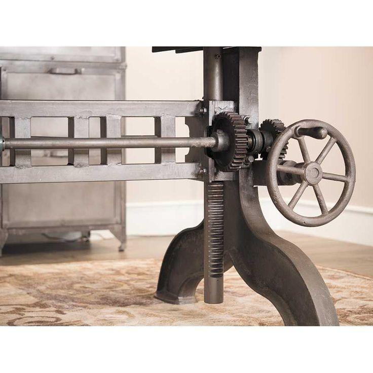 Industrial Crank Adjustable Table SIE-A8425