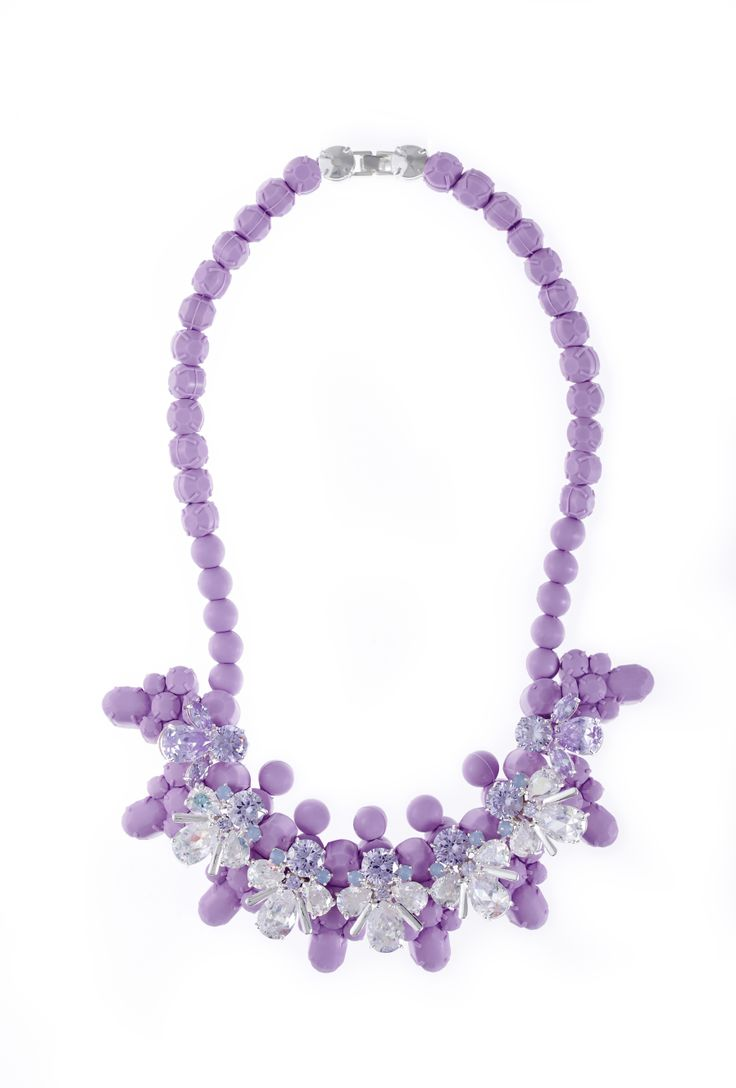 Jewels that Rock - EK Thongprasert Designer Jewellery Lavendula in coolest shade of lavender